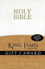 King James Version Gift and Award Bible by Zondervan Bibles Staff (2011,...