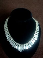 "VINTAGE MOTHER of PEARL GRADUATED 16"" (40cm) NECKLACE"