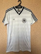 RARE Germany NATIONAL TEAM 1984/1986 HOME FOOTBALL SHIRT JERSEY MAGLIA ADIDAS