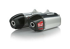YOSHIMURA RS-9 Signature Dual Slip On Exhaust Pipe Stainless HONDA CRF 250R