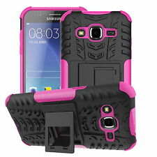 For Samsung Galaxy J1 Ace J2 Case Heavy Tough Shockproof Stand Hard Armor Cover