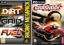Colin McRae Dirt & Race Driver GRID & FUEL - Racing Mega Pack & crashday