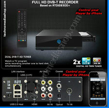 eu Box Multimediale Full-HD HDD 2TB DVR Acquisizione Video capture AV-in DVB-T