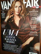 Vanity Fair.Uma Thurman,Jared Leto,Martina Stoessel,Luca Barbareschi,iii