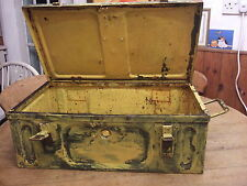 World War 2 metal ammunition box