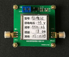 50MHZ-4GHZ NF=0.6dB Low Noise Broadband RF Signal Amplifier Repeater 18dB Gain