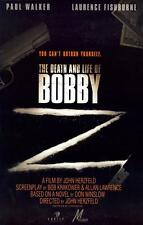 THE DEATH AND LIFE OF BOBBY Z Movie POSTER 27x40 Paul Walker Laurence Fishburne