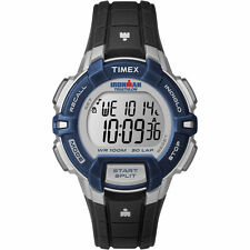 "Timex T5K810, Men's ""Ironman"" 30 Lap, Resin Digital Watch, Indiglo, T5K8109J"