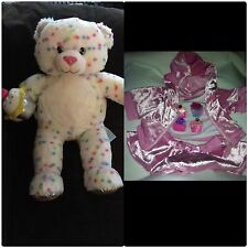 Build a Bear Bake Shop Series Confetti Sprinkles Cupcake Sweet Treats & Outfit