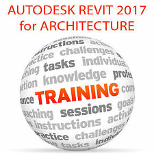 Autodesk REVIT 2017 for ARCHITECTURE (metric) - Video Training Tutorial DVD