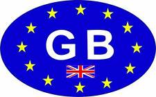 British UK Flag Country ID European EU GB Car Sticker Decal