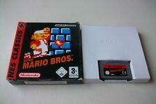 Jeu Nintendo GBA Gameboy Game Boy Advance Super Mario Bros NES Classics