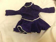 American Girl Doll Molly's Purple Ice Skating Dress - Retired