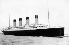 Photo of R.M.S. Titanic at Sea- April 10, 1912- Just Days Before it Sank