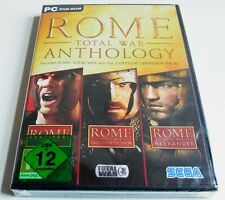 Rome Total War Anthology / Gold + Add On Alexander + Barbarian Invasion  Win 7/8