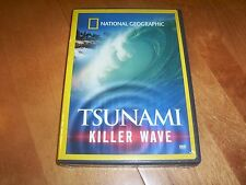 TSUNAMI KILLER WAVE Tidal Waves Sea Disaster Ocean NATIONAL GEOGRAPHIC DVD NEW