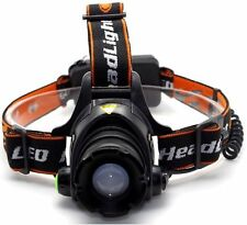 New 3000LM CREE XML XM-L T6 LED Head Torch Zoomable Headlight 18650 Head Lamp