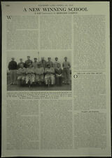 Golf Old Wellingtonians Winners Of Halford Hewitt Cup 1959 1 Page Photo Article