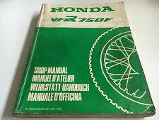 Werkstatthandbuch VFR 750 F -(G) (1986) (RC24)