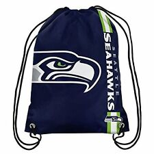 Seattle Seahawks Official NFL Backpack Backsack by Forever Collectibles 985176