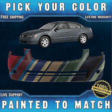 NEW Painted to Match- Front Bumper Cover For 2005 2006 Nissan Altima Sedan 05 06