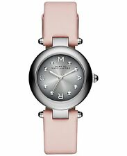 Brand New Women's Marc Jacobs Dotty Pink Leather Strap Watch MJ1412