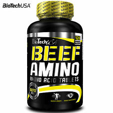 Beef Amino 120 Tab. Animal BCAA Essential Acids Whey Protein Tryptophan Anabolic