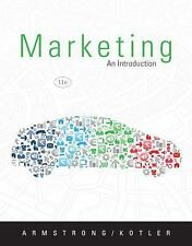 Marketing: An Introduction (11th Edition), Kotler, Philip, Armstrong, Gary, Good