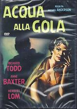 Dvd Video **'ACQUA ALLA GOLA** di M. Anderson con Richard Todd nuovo 1958