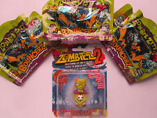 """Zombiezz 2*1x personaggio """"wreak EM"""" + 3 cartocci Zombie ZITY * bouncerz * NUOVO * OVP * (8)"""