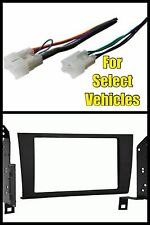 98-05 Lexus GS300/GS400/GS430 Double Din Car Radio Install Dash Trim Kit + Wire
