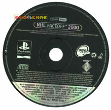 NHL FACE OFF 2000 Ps1 Versione Promo Europea gioco completo »»»»» SOLO DISCO