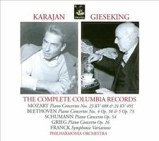 Karajan, Gieseking: The Complete Columbia Recordings New CD