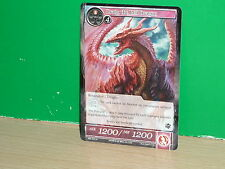 FOW Force of Will - SKL-021 Draig, the Red Dragon