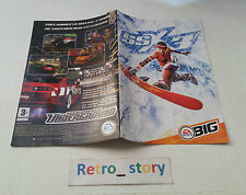 PS2 SSX 3 Notice / Instruction Manual