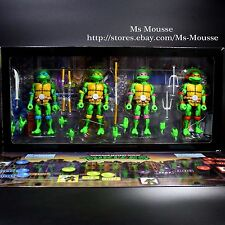 "NECA SDCC 2016 Teenage Mutant Ninja Turtles 7"" Action Figure Exclusive Box TMNT"