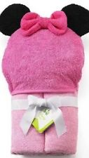 Pink Disney Mickey Mouse & Friends Minnie Mouse Hooded Towel BNWT Free Shipping