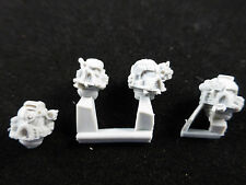 40K Space Marine Iron Hands Finecast Heads