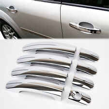 FIT FOR 2012-2017 FORD FOCUS MK3 CHROME DOOR HANDLE COVER TRIM CATCH CAP MOLDING