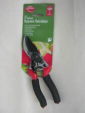 New Ambassador Deluxe Bypass Pruner Secateurs Foam Grip 20mm ABS5