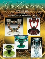 Glass Candlesticks of the Depression ID Identification Price Guide Gene Florence