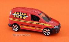 2010 Matchbox Loose 2006 Volkswagen Caddy Red MVS Multi Pack Exclusive Brand New