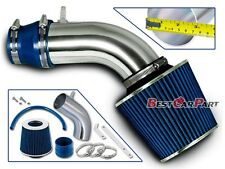 BCP BLUE For 11-16 Hyundai Elantra 1.8L Racing Air Intake Kit + Filter