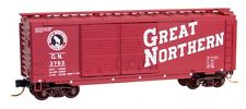 Great Northern 40' Standard Boxcar Dbl Doors Micro-Trains MTL #02300352 N-Scale