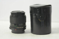 Canon FD 85mm F1.8 US Navy Lens with Cap, Case & Filter