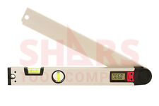 """SHARS 16"""" Digital Angle Meter Protractor Spirit Level 0-225° Accuracy 0.3° New"""