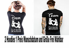 Dream Team T Shirt 2 Stück Partner Look Relationship Pärchen Couple XS bis 5XL