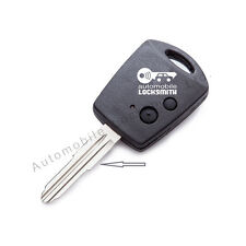 for Proton 2 button remote key fob case shell with rubber pad & blade LEFT side