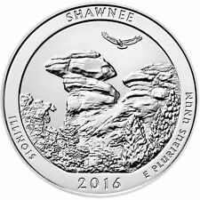 2016 5 oz ATB Shawnee National Forest Silver Coin