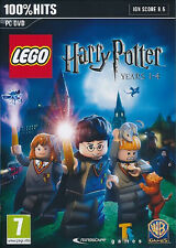 LEGO Harry Potter Years 1-4 ( PC GAME ) NEW SEALED